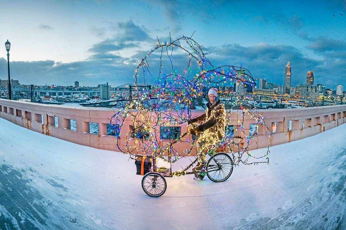 Jimmy Kuehnle's Twinkling Tricycle Tour of Enchantment: Brite Winter Fest