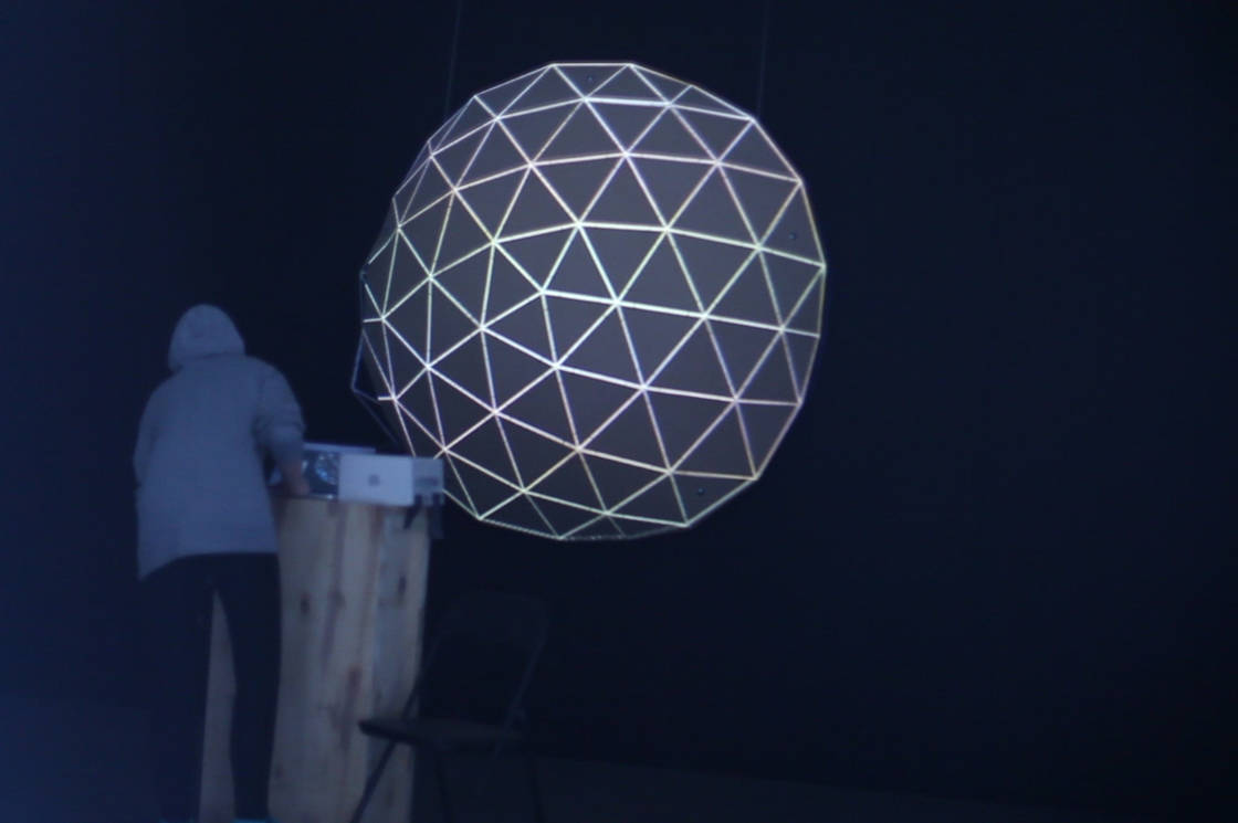 Projection Mapping On Spatial Sculptures