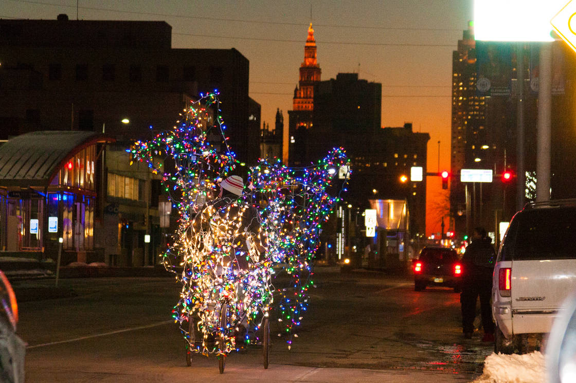 Jimmy Kuehnle's Twinkling Tricycle Tour of Enchantment: Cleveland